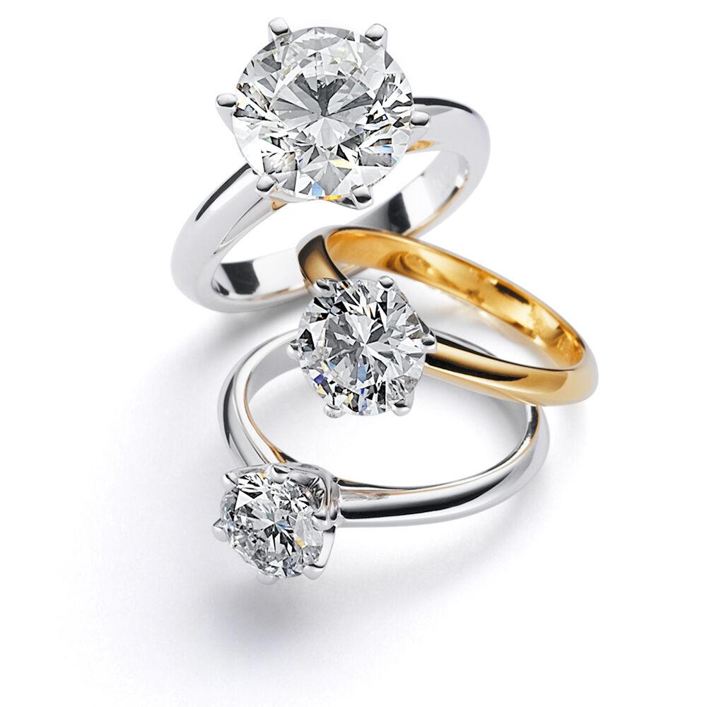 Antragsringe Verlobungsringe
